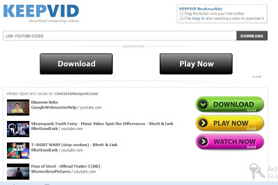keepvid downloader youtube video