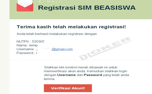 SIM Beasiswa