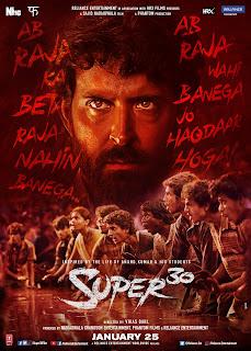 Super 30 (2019) Hindi Movie Pre-DVDRip | 720p | 480p