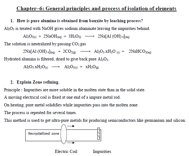 CHEMISTRY IMPORTANT QUESTIONS PART 2| Karnataka PUC Second year 2019