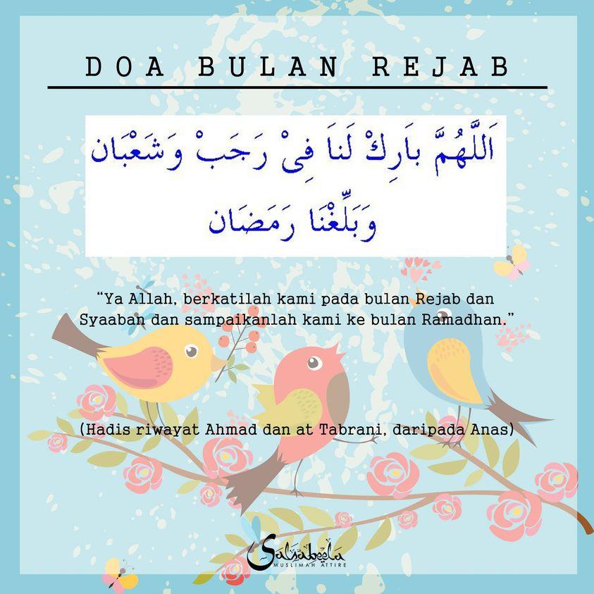 Salam 1 Rejab 2021