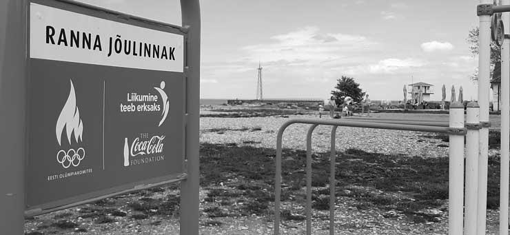 Самое травмоопасное покрытие спортивной площадки в Эстонии