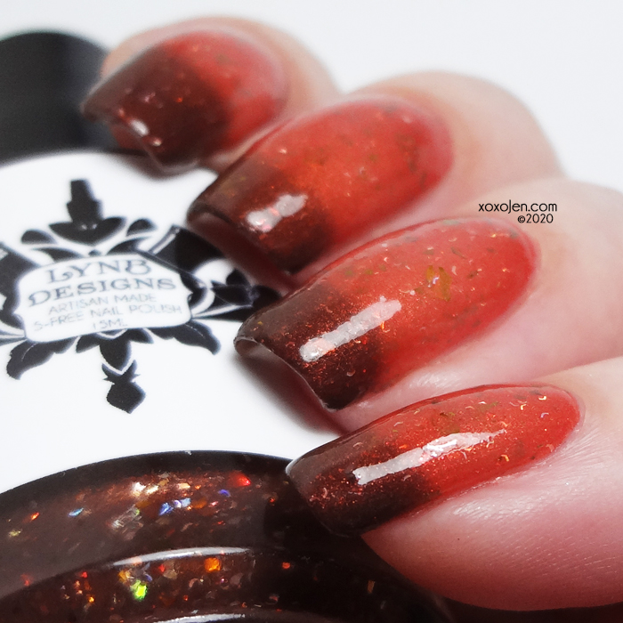 xoxoJen's swatch of LynB Designs Queen Succubus