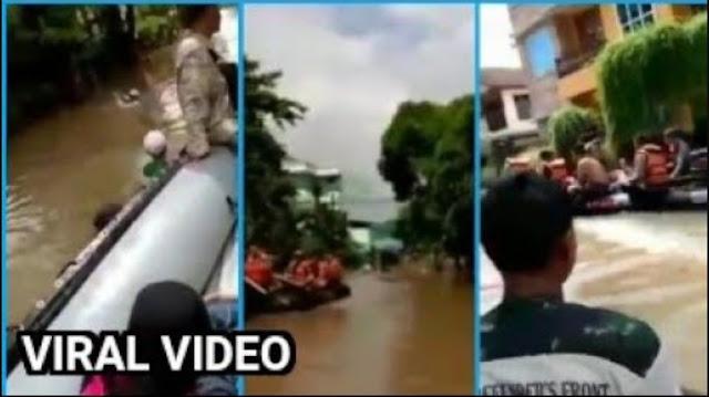 Video FPI Pinjam Dayung gak Boleh dan Dicuekin Personel Polisi