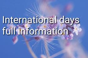 World international days