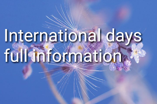 World international days