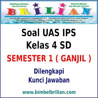 Soal UAS IPS Kelas 4 SD Semester 1 (Ganjil) Dan Kunci Jawaban