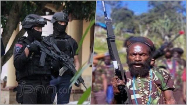 Ragukan Kemampuan Densus 88, Teroris OPM: Lawan Gerilyawan Bisakah?