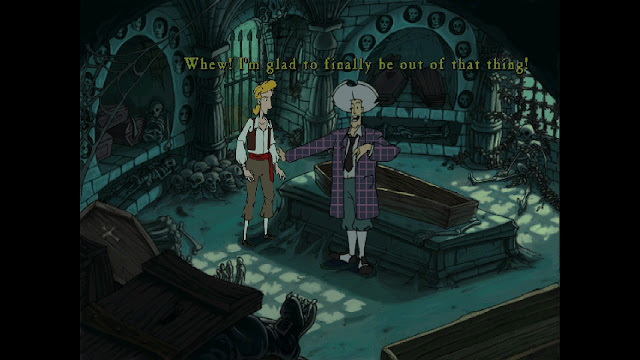Screenshot from The Curse of Monkey Island