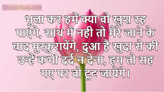 Sad Love Shayari in Hindi For FB