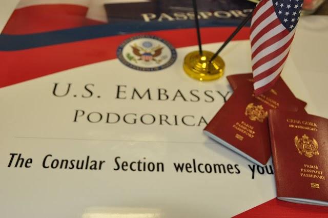 U utorak i srijedu prezentacija o pravilnom korištenju američkih viza