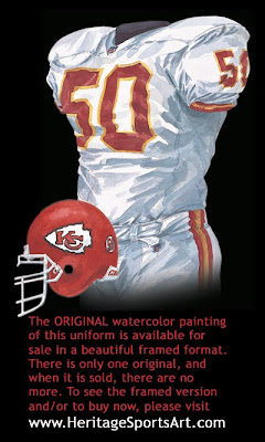 Kansas City Chiefs 2000 uniform