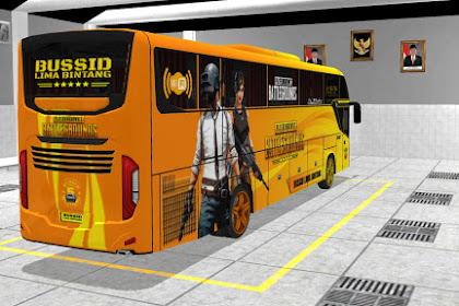 Livery BUS SHD SRIKANDI - PUBG