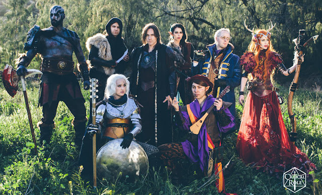 Opinión - Cuando los famosos juegan Dungeons & Dragons - Critical Role