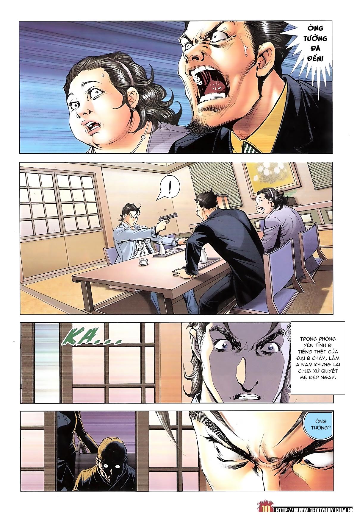 Người Trong Giang Hồ chapter 1656: nể mặt lão tưởng tao trang 9