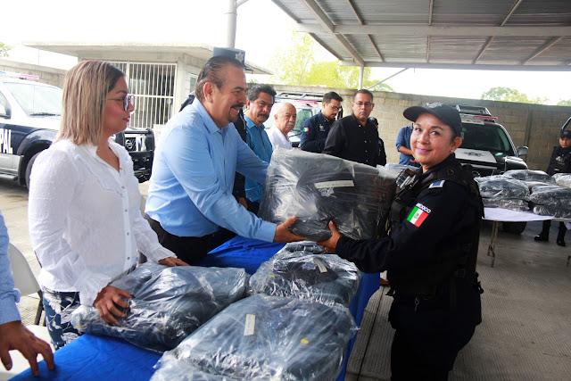 Con FORTASEG y Mando único se fortalece seguridad en Martínez de la Torre