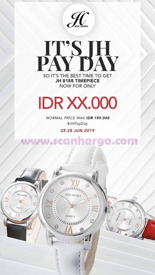 Katalog JIMS HONEY Promo Pamflet JH Payday 25 - 28 Juni 2019