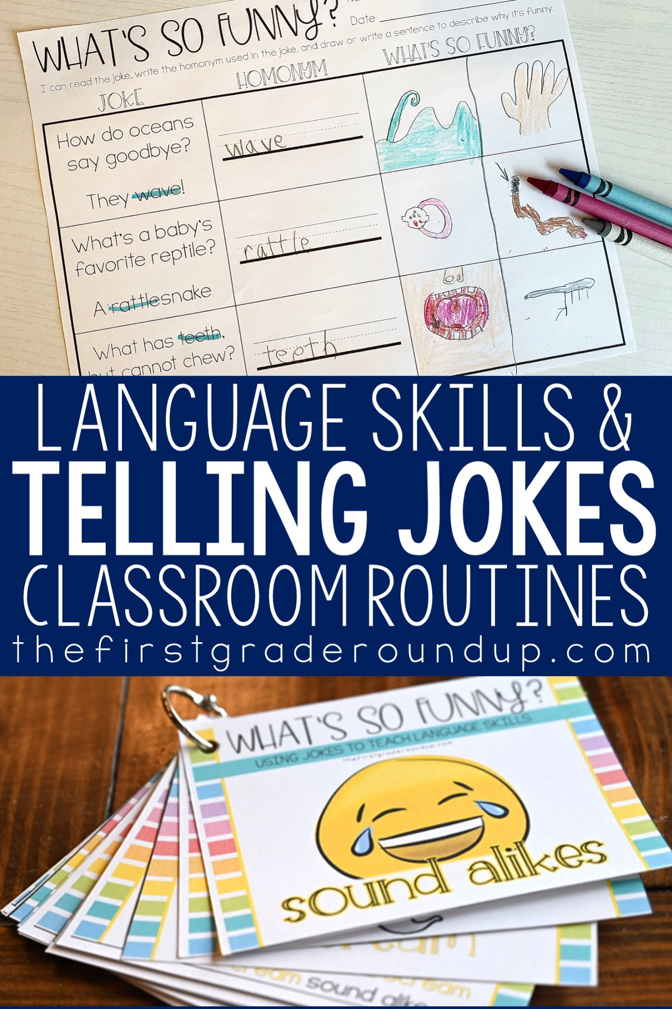 Using Jokes to Teach Language Skills - Firstgraderoundup