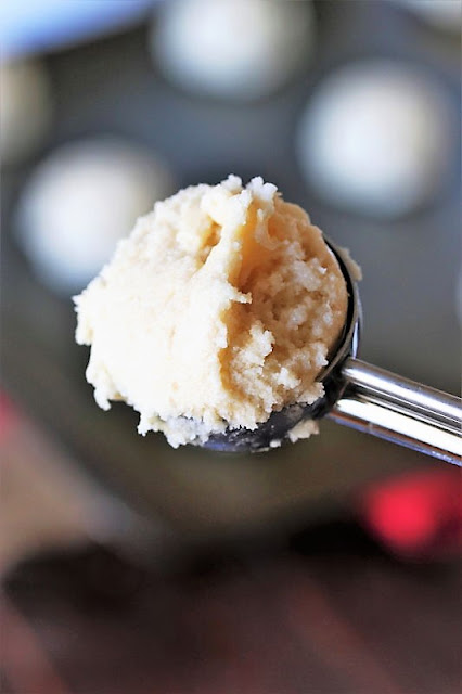 Scoop of Amish Sugar Cookie Dough Image