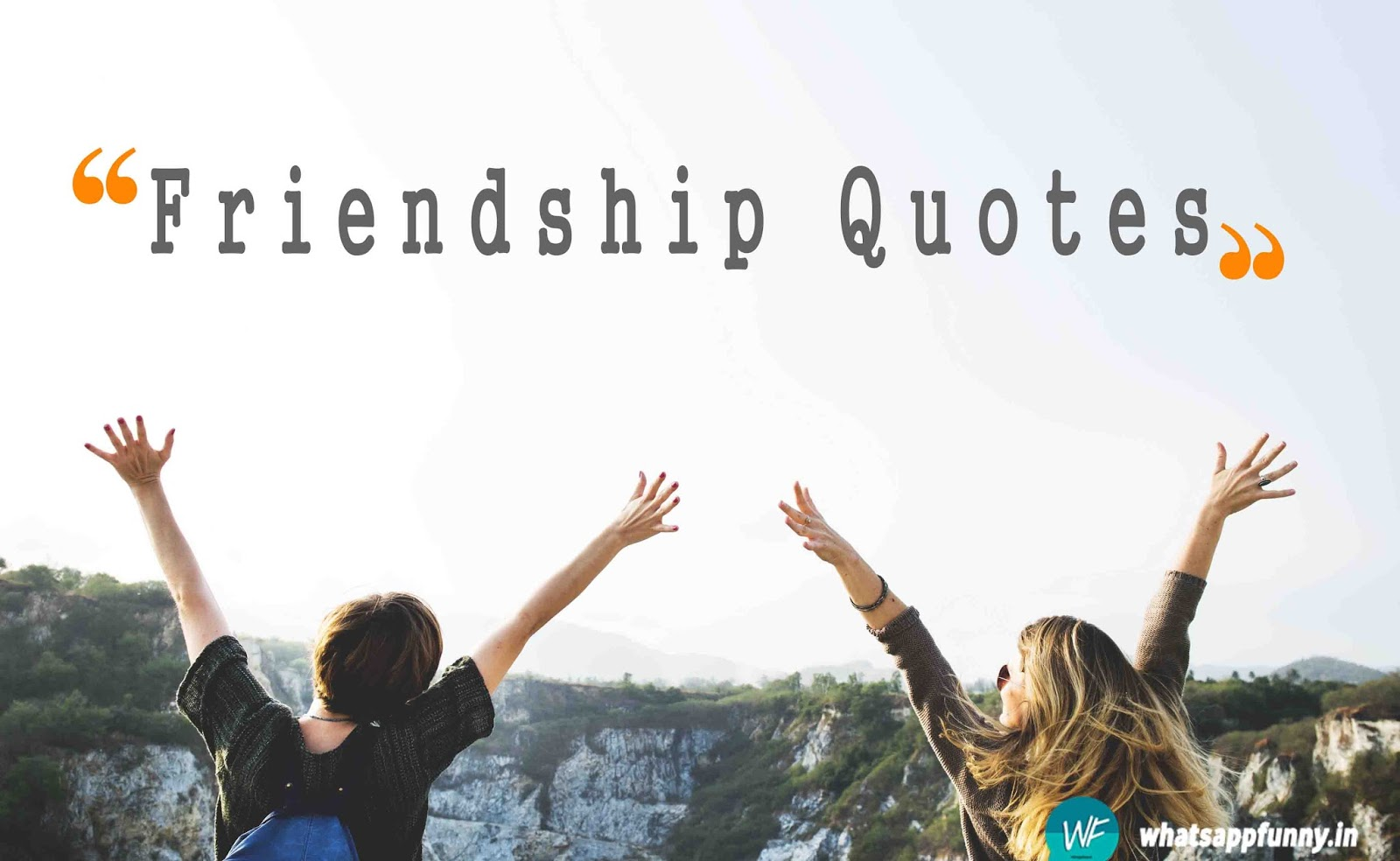 one liner friendship quotes