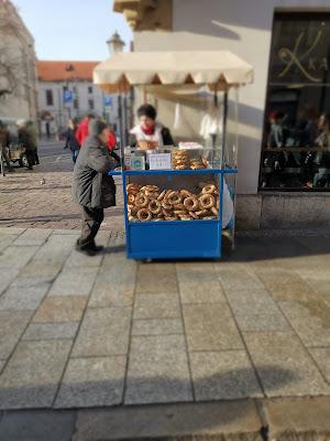 Obwarzanek  cracovia streetfood