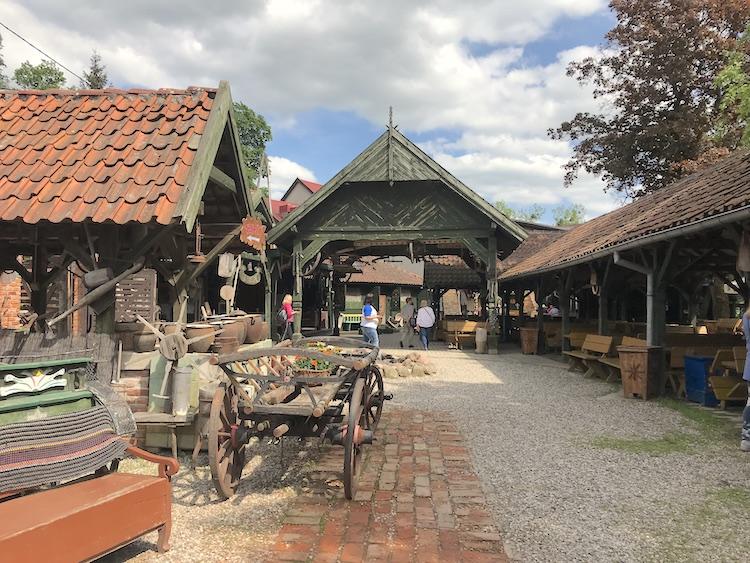 Sanktuarium Maryjne Gietrzwałd, karczma warmińska, kuchnia warmińska Gietrzwałd