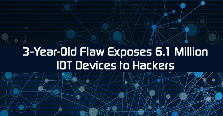 Serious, Yet Patched Flaw Exposes 6.1 Million IoT, Mobile Devices to Remote Code Execution
