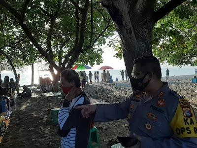 Kapolresta Mataram: Pengunjung Pantai Harus Tetap Gunakan Masker