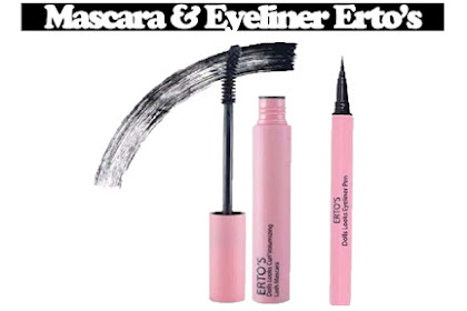 Review Mascara & Eyeliner Erto's