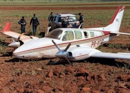 PF e FAB apreendem 1,1 tonelada de cocaína ao interceptarem duas aeronaves simuntaneamente