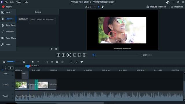 ACDSee Video Studio 4.0.1.1013 - Chỉnh sửa video
