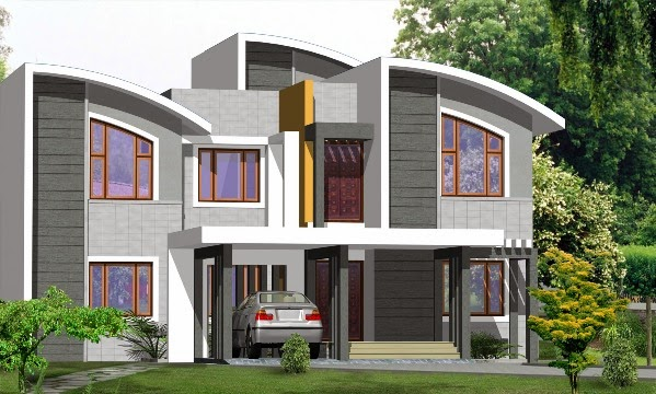 Veedu Front Elevation : My home elevations veedu വീട്
