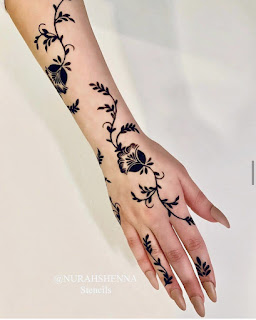 New henna design pictures