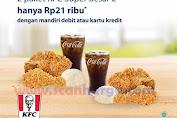 KFC Promo 2 Paket KFC Super Besar 2 Hanya 21 Ribu Dengan Debit/Kartu Kredit Mandiri