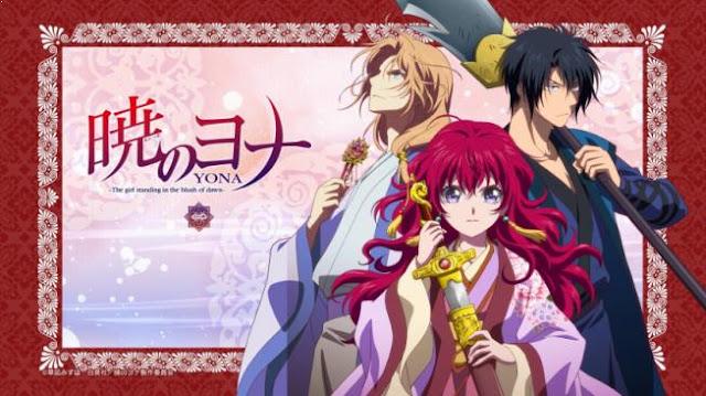 Akatsuki no Yona - Daftar Anime Fantasy Terbaik Sepanjang Masa