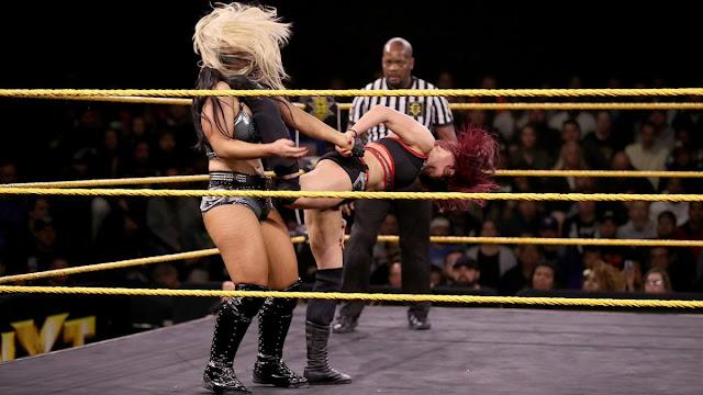 Duas estrelas se lesionaram no último WWE NXT