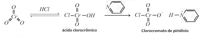 reaçao obtençao clorocromato piridinio pcc