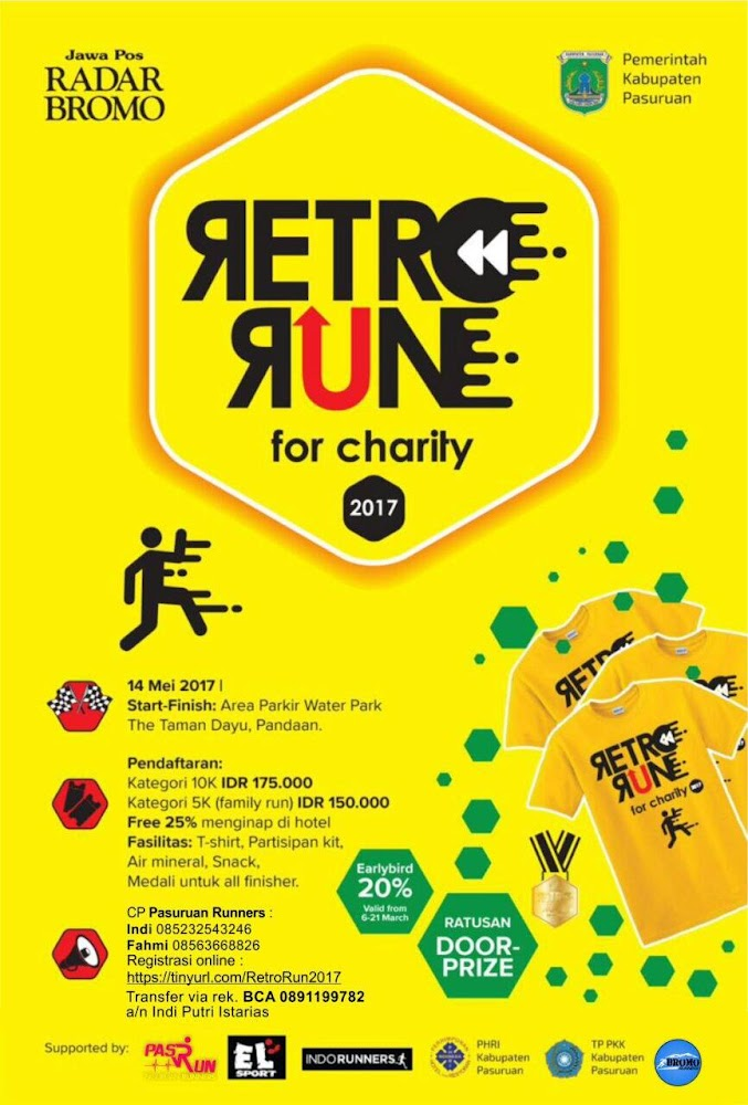Retro Run for Charity • 2017