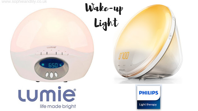 Wake up clocks by Lumie and Philips Light Therapy