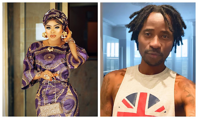 You are Local Champion- Bisi Alimi slams Bobrisky for saying being a woman pays him well