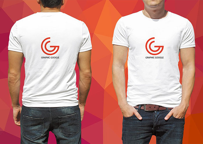 Male T-Shirt Mockup PSD