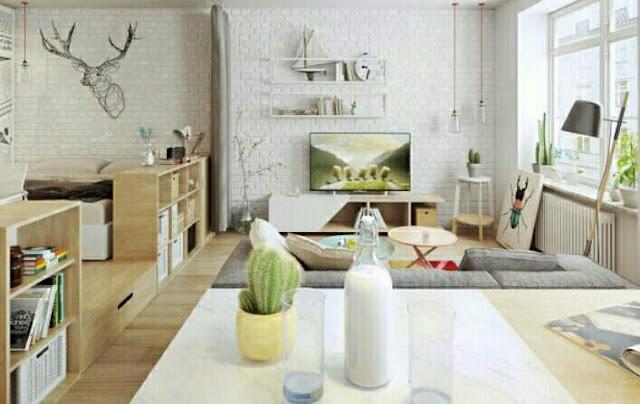 Desain Rumah Minimalis type 45 3 Kamar