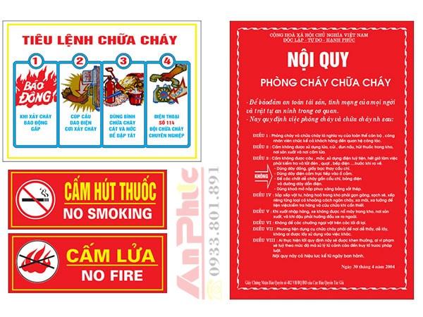 Quy định về phòng cháy chữa cháy nhà xưởng, doanh nghiệp và thủ tục xin cấp phép