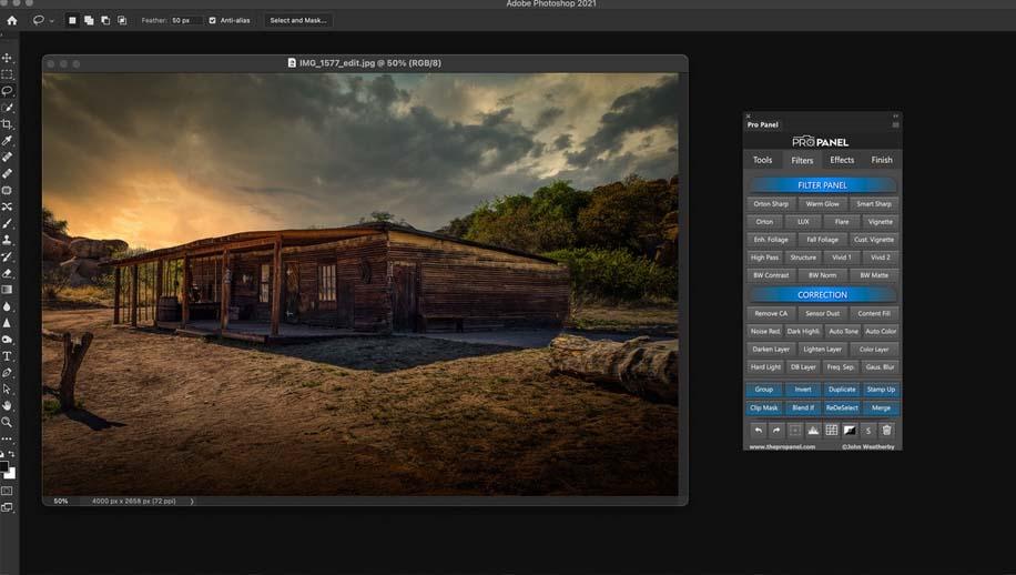 Pro Panel V1.5.2 For Photoshop