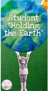 Earth Day Educational Activities for the primary classroom:  reading, hands-on crafts, writing, and science activities for students to learn more about Earth Day