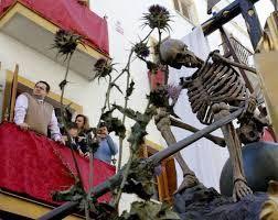 la muerte en la semana Santa es una alegoría de la victoria de Jesucristo frente a la muerte y el pecado