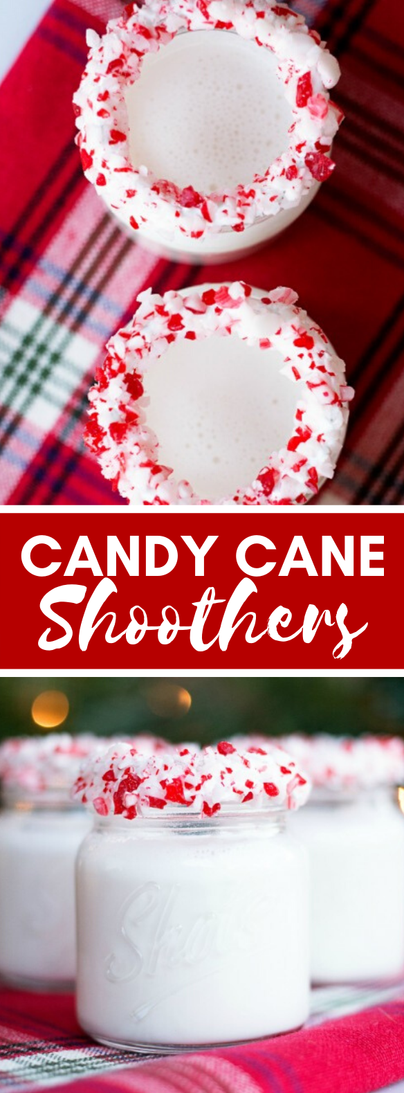 Candy Cane Shooters #drinks #christmas