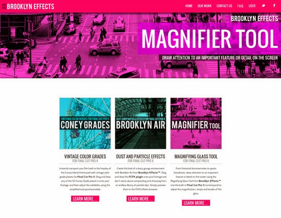 Magnifier Tool for Final Cut Pro X from Brooklyn Effects™ | Final