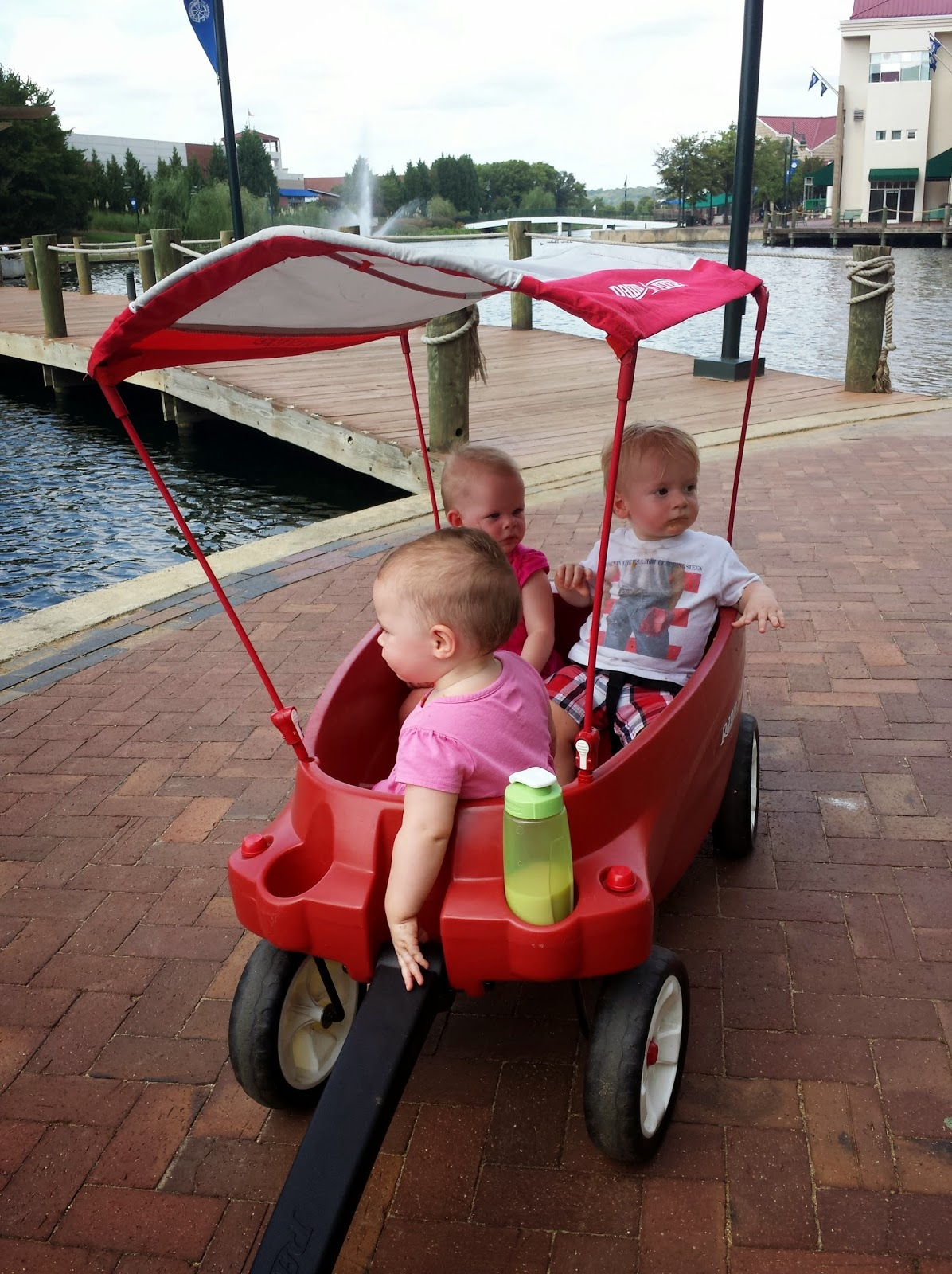 Triplets Toddler Radio Flyer Triple Play Wagon