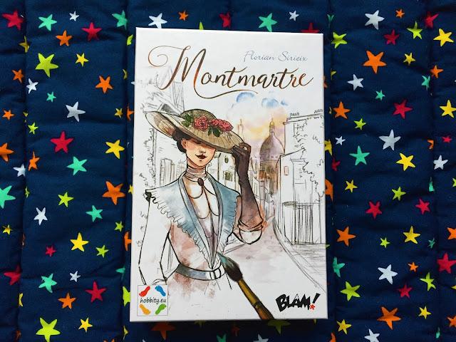 """Recenzje #189 - """"Montmartre"""" - gra karciana - nagłówek - Francuski przy kawie"""